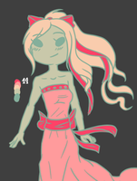 Lacey The Ribbon Princess Color Meme by EuchredEuthanasia