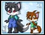 Josh And Chris by BabyChrisFox