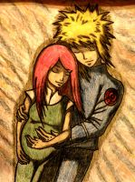 Minato and Kushina by MalaMi95