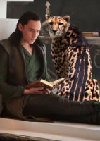 Loki and His Daemon by LJ-Todd