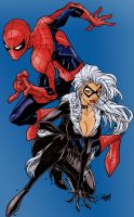 Spidey and Friend by Jonboy by Blindman-CB