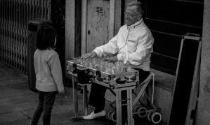 the glass harmonica player by dage-photo