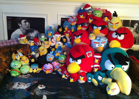 ANGRY BIRDS Plush Collection Update 3 by KasaraWolf