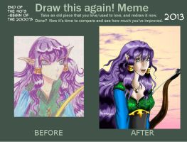 Draw this again Meme by Lady--knight