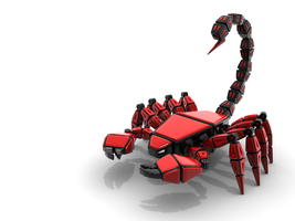 MechBeast: Red Scorpion by HolgerL