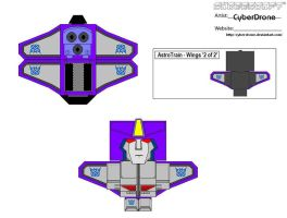 Cubee - Astrotrain '2of2' by CyberDrone