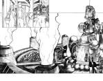 Final Fantasy VII pages 2-3 by Jelli76