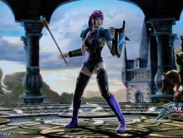 Glimmer, SoulCalibur IV Weapon by wallbie