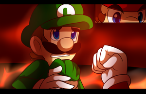 This is the only way luigi by BaconBloodFire