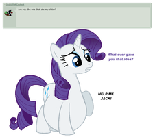 Ask Rarity question #14 by RarityVore