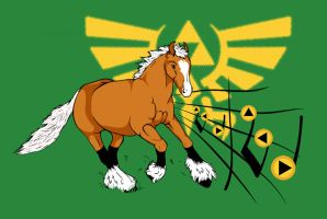 Calling Epona by SimbaHearted