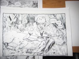Copy Drawing from Walking Dead 1 Days Gone  Bye by AKA-M80-TheWolf