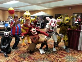 Five Nights at Freddy's Crew by Kushalyn