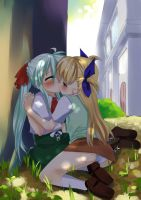 commission: vivio X einhart by Raging-Heart
