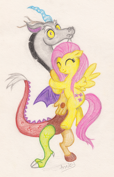 FlutterCord hugs by Arxuicy