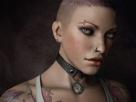 Indi Girl by DK-Woods