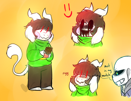 Monster Chara by 6AgentGG9