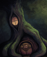 forest dwelling by TurboSolid