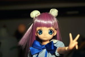 Mii-chan from Popotan OOAK doll by L63player