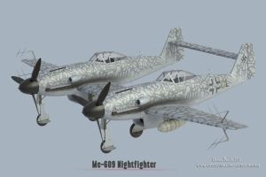 RS-Models : Me-609 Nightfighter by rOEN911