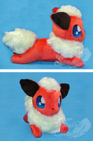 Teenee Eeveelution: Flareon by FeatherStitched