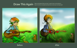 Draw This Again Contest by Foreveryoung8