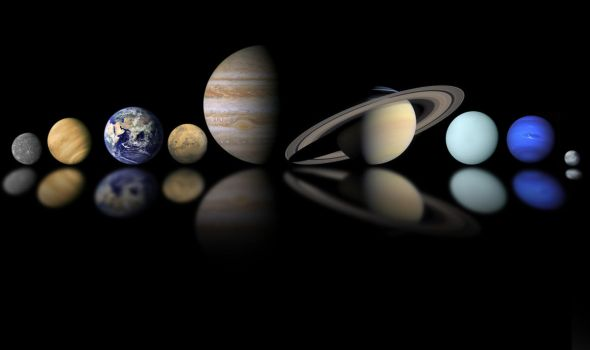 Planets Mosaic (plus Pluto) by Gyromorgian