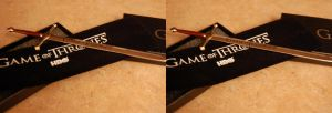 3D Game of Thrones Letter Opener by chrisleblanc79