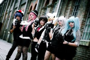 Vocaloid Pokerface Group Cosplay by springroll97