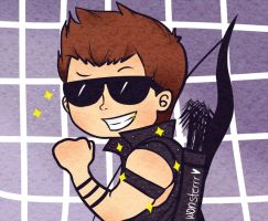 TA: Hawkeye by wonsterrr