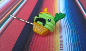 Mexican Cupcake Bobby Pin 2 by Gynecology