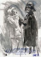 quick oil wash of vader and friend by charles-hall