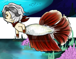 Betta OC Humphrey by itsmar