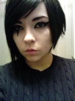 Faith Connors Mirrors Edge   Makeup Test Number 1 by DiaryofADoll