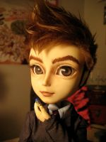 Doctor Who custom closeup by Artemekiia