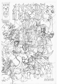 ANSEM'S REPORT-Kingdom Hearts inspired pencils. by future-parker