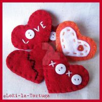 PIN HEARTS by LoRi-La-Tortuga