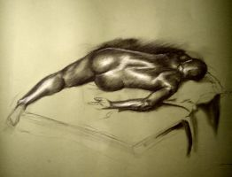 Life Drawing: 60 min by Elsma