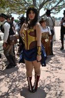 Steampunk Wonder Woman by Anime-Ray
