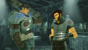 Crossover Gears_Wolverine by Lei-sam
