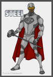 Justice League - Steel Redesign by Femmes-Fatales