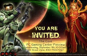 The Core Gaming Invite by VarukaBlue