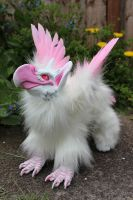 Vius the Griffin Artdoll 2 by Creature-Cave