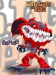 LTB character design - Grillus by universe-K
