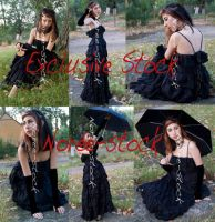 Exclusive - Lady Dark by Noree-stock