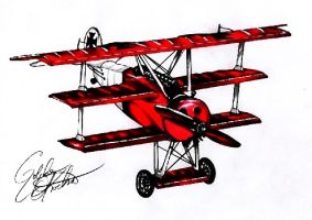 The Red Baron by myshoescramp
