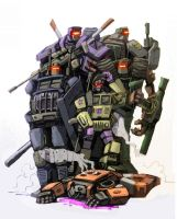 Combaticons by Klejpull