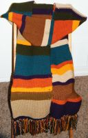 my eighth Tom Baker scarf by floppybelly