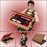 Lara Croft - HK USP Specials by DecanAndersen