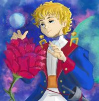 Little Prince Fanart by Mishachuu